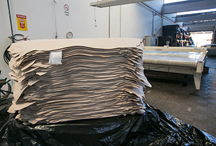 Pallet of leather in Single Culattas